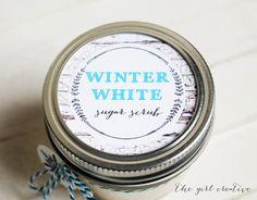 Winter White Sugar Scrub - The Girl Creative
