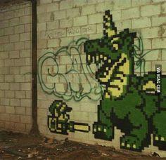 Best graffiti ever.