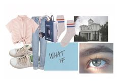 """""""i can't have it any other way"""" by ravenclaw-girl-1 ❤ liked on Polyvore featuring adidas, Topshop and Sacai"""