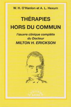Amazon.fr - Therapies Hors du Commun - O Hanlon/Hexum - Livres
