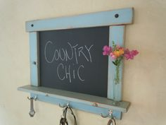 ChalkboardCraftsman style country chic with by OldCountryGeneral, $85.00