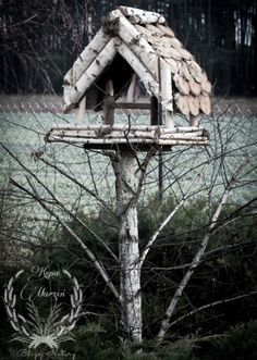 Stołówka Dla Ptaków... Outdoor Decor, Diy, House, Home Decor, Cabins, Decoration Home, Bricolage, Home, Room Decor