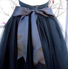 back of the skirt