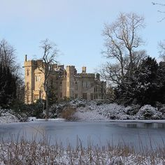 Duns Castle in the snow #winterwedding #scottishcastle
