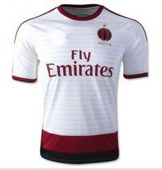 ac milan 2014 15 season away white soccer jersey a29