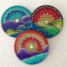 Likes, 16 Comments - Mandalas and painted rocks (Create And Cherish) on In. - - Likes, 16 Comments – Mandalas and painted rocks (Create And Cherish) on In… Mountain Likes, 16 Kommentare – Mandalas und gemalte Steine ​​(Create And Cherish) auf In … – # Dot Art Painting, Rock Painting Designs, Mandala Painting, Pebble Painting, Ceramic Painting, Pebble Art, Stone Painting, Ceramic Art, Dot Painting On Rocks