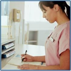 Medical Pictures  Medical Assistant Taking A PatientS Medical