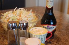 "I completely forgot to take a picture of this slaw after it was done.  We ate it up too quickly.  It was part of our ""Dog and Suds"" supper - hot dogs, root beer and this slaw.  It made for some happy kids. Print Quick Cole Slaw Ingredients 1 bag of slaw mix ½ cup [...]"