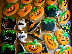 Halloween cookies By miradawnp on CakeCentral.com