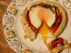 Oua la cuptor - Carrefour-Pentru o viata mai buna Eggs, Breakfast, Recipes, Morning Coffee, Recipies, Egg, Ripped Recipes, Cooking Recipes, Egg As Food