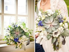 floral designs for weddings succulents - Google Search