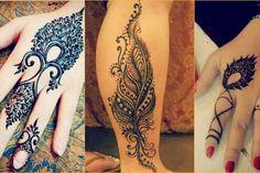 feather-henna-designs