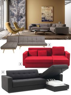serie de canapés d'angle de style Couch, Furniture, Home Decor, Style, Sleeper Chair Bed, Fold Out Couch, Home Decoration, Home Ideas, Swag