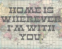 maps + lyrics