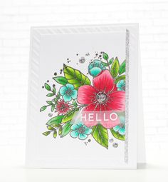 Hello and welcome to my second post this month featuring the amazing new products from Concord and 9th ! I am in LOVE with the new Hello Lo...