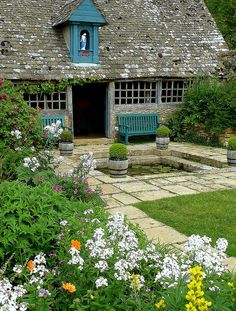 The Gardens at Snowshill Manor Gloucestershire by Jayembee69 on Flickr.