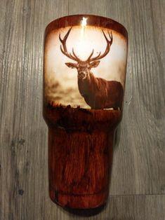 Diy Tumblers, Custom Tumblers, Glitter Tumblers, Girls Tumbler, Tumbler Cups, Deer Pictures, Yeti Cup, Painted Cups, Tumbler Designs