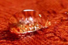 water drop cloth