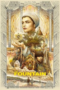 Ise Ananphada The Fountain RARE Limited Edition Poster Print Art Aronofsky Best Movie Posters, Cinema Posters, Movie Poster Art, Cool Posters, The Fountain Movie, Best Sci Fi Films, Pop Art, Movie Synopsis, Poster Drawing