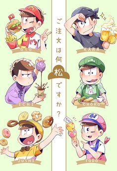 Osomatsu-san The Matsu 埋め込み画像 All Anime, Anime Love, Anime Manga, Anime Guys, Anime Art, Osomatsu San Doujinshi, Gekkan Shoujo Nozaki Kun, Ichimatsu, Anime Comics
