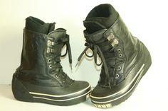 Airwalk Scrub snowboard boots mens size 6 womens size 7 #AIRWALK
