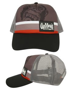 e36080c45db4f8 GMG Trucker Gas Monkey Garage Cap (Multi-Colour) GMG Trucker cap with Gas