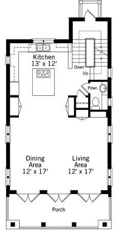 Waterfront villa 2nd floor plan beach house plans for Kaplan floor plan