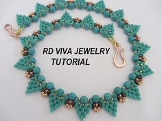 Tutorial Boston Necklace by Vivatutorial on Etsy