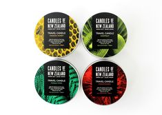 Candles of New Zealand by Family Design Co.