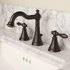 Elegant Victorian inspired faucet design by Newport Brass. #BrassOnModenus
