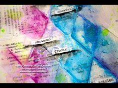"""journal d'artiste """"january"""" art journaling - YouTube"""