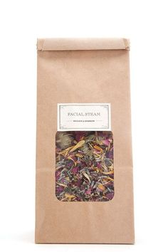 Sprinkle this charming mix of dried herbs and flowers in a bowl of hot water, hover your face above it, inhale deeply, and let the steam do its pore-unclogging, skin-nourishing magic. It's one of the most tranquil, spa-like experiences we've ever had at home. #refinery29 http://www.refinery29.com/affordable-beauty-products#slide-11
