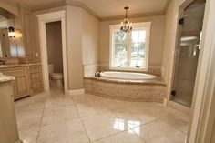 Traditional Master Bathroom with Undermount sink, Wall sconce, Flush, Frameless Shower Doors By Dulles Glass and Mirror