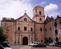 Facade of San Agustin Church, Manila Philippines #pinoycatholic