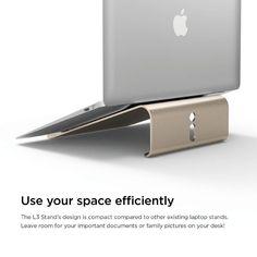 Elago L3 STAND - дизайнерска поставка за MacBook, преносими компютри и таблети (златист): • Производител: Elago • Модел: L3… www.Sim.bg