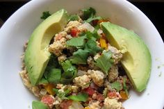 avocado + cilantro = delicious