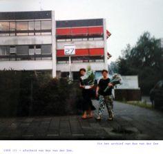 Uit het archief van Ans van der Zee. 1989 (?) - afscheid van Ans van der Zee.