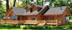 Smithouse - Home House In Nature, House In The Woods, Cabin Plans, House Plans, Log Cabin Homes, Wooden House, Stone Houses, Tropical Houses, Beautiful Homes