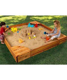 Beautiful Backyard Sandbox for Kids