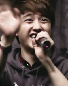 Adorable D.O (gif) aaahh so cute!