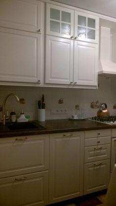 Кухня Будбин белый с оттенком\n