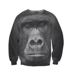 Gorilla crew neck sweatshirt