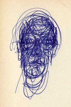 "Christian & Vincent on Twitter: ""Graffiti... Dessin d'Alberto Giacometti, d'un seul trait @mvoinchet @francoisaubel @PhilippeLefait @AnnickCojean https://t.co/wmQDdqCAv5"""