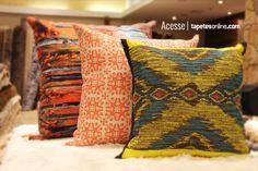 Originais, estilosas e muito ousadas. As novidades não param de chegar na Kyowa!  http://www.tapetesonline.com/almofadas