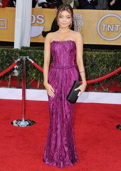 Sarah Hyland in Dolce & Gabbana at the SAG Awards