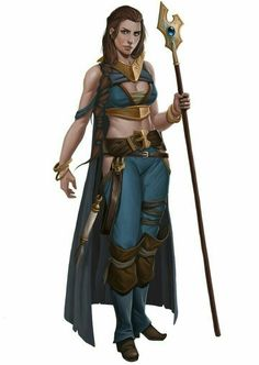 Female Wizard - Pathfinder PFRPG DND D&D d20 fantasy