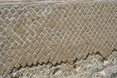 Opus Reticulatum usato in un muro esterno della Villa Adriana (prima metà II sec.d.C.)