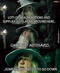 Lol this is what it feels like playing skyrim