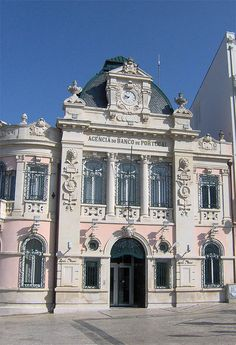 I've been to this bank. Having saudades today. Banco de Portugal - Coimbra, Portugal