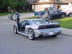 Pontiac Fiero GT interior.